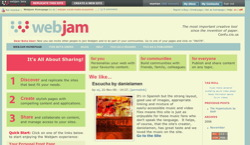 screenshot webjam