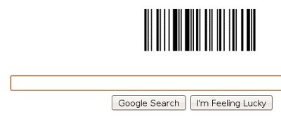 google barcode doodle