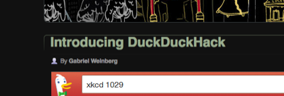 introducing duckduckhack
