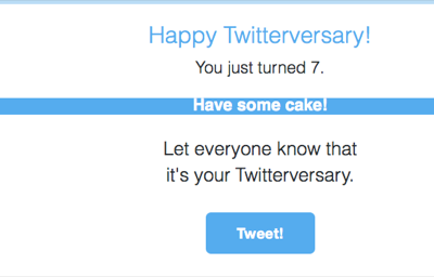 happy twitterversary
