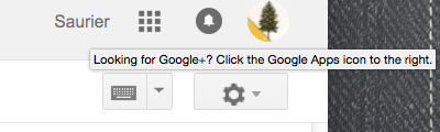 looking for g+?