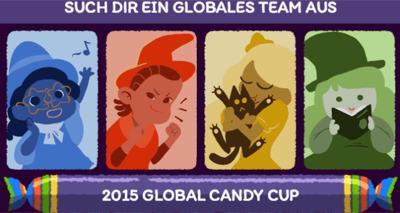 global candy cup teams