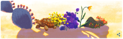google doodle earth day 2