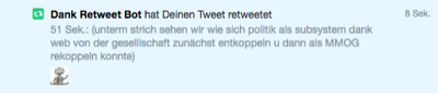 dank retweet bot