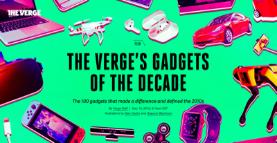verge 100 best gadgets