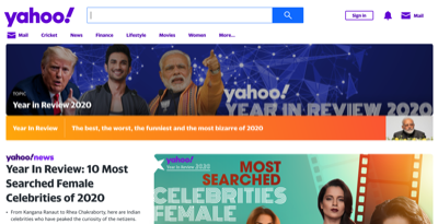 yahoo year in review 2020 india