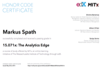edX: The Analytics Edge