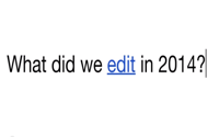 video: Wikipedia: #Edit2014