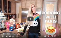 video: Cooking with Paris