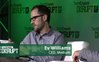TC Disrupt SF: Ev Williams