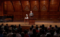 video: Justice with Michael Sandel