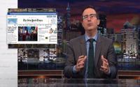 video: John Oliver: Native Advertising