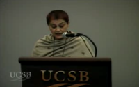 video: Gayatri Spivak - The Trajectory of the Subaltern in My Work