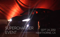 video: Tesla Motors Supercharger Event