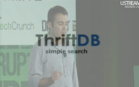video: ThriftDB Startup Battlefield
