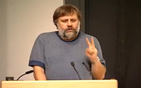 video: Slavoj Zizek - Lecture at Boston University