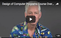 Design of Computer Programs Course Overview